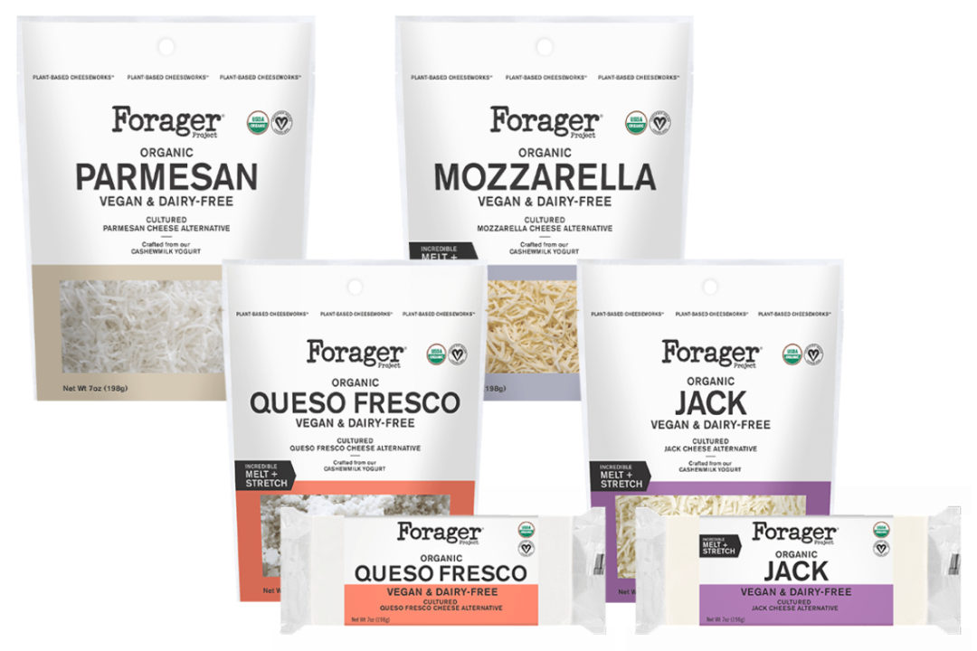 Forager Project plant-based cheeses