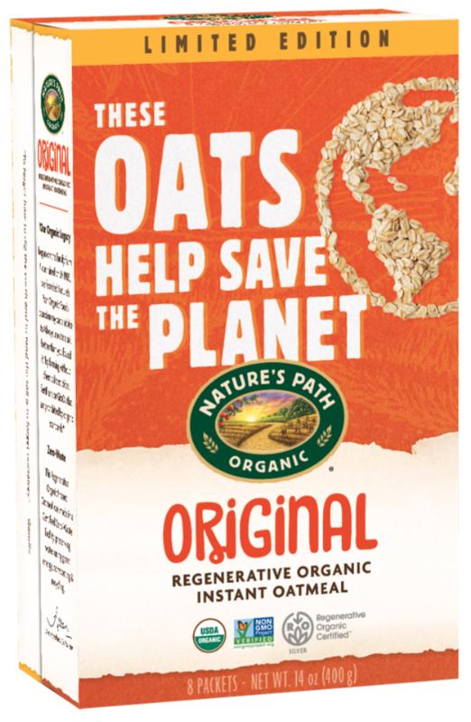 Nature's Path oats from Legend Organic Farm in Saskatchewan