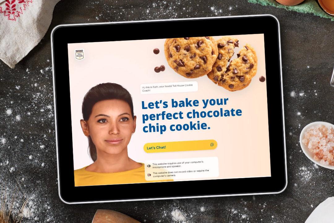 Nestle Ruth AI cookie coach
