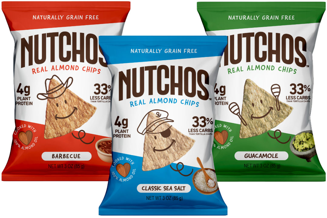 Nutchos almond tortilla chips