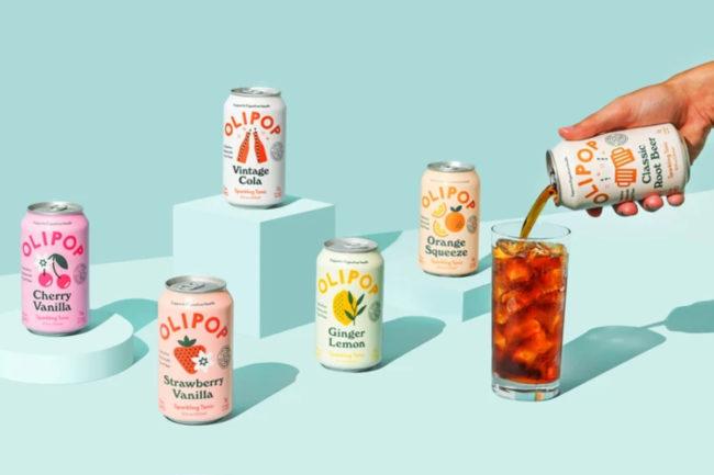 Olipop sparkling soft drinks
