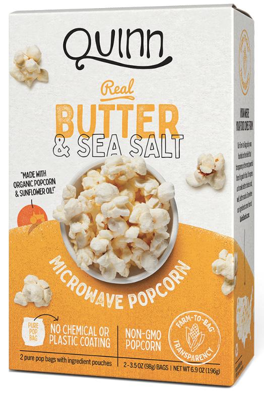 Quinn Snacks popcorn