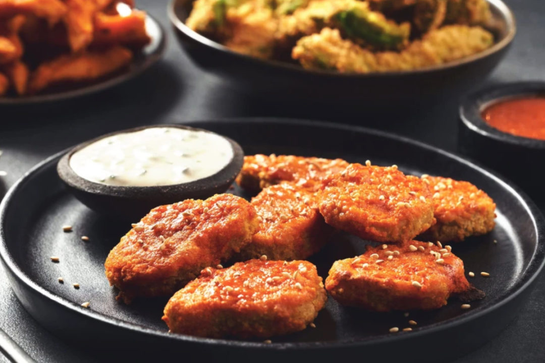 Quorn Foods plant-based nuggets