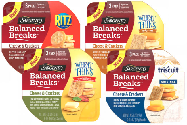 Sargento Balanced Breaks Cheese & Crackers Snacks