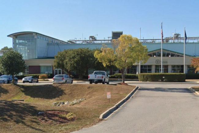 Tyson Coumbia, SC, facility