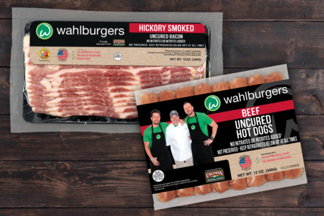 Wahlburgers bacon and hot dogs