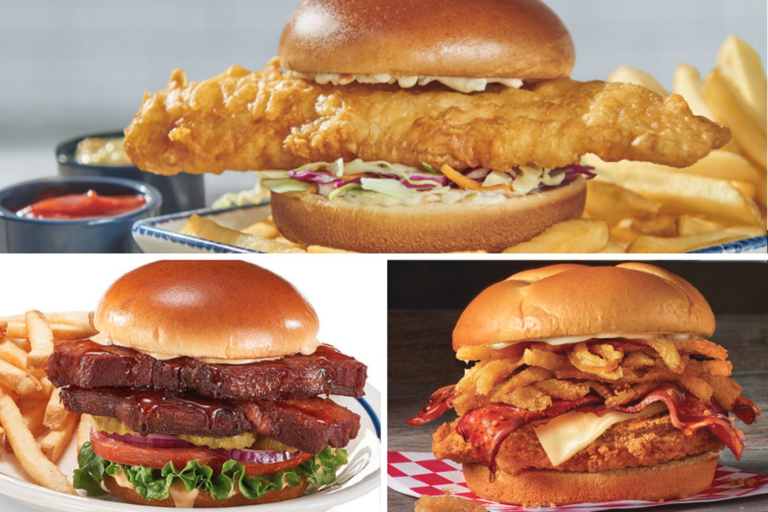 New menu items from Red Lobster, IHOP, Checkers and Rally's