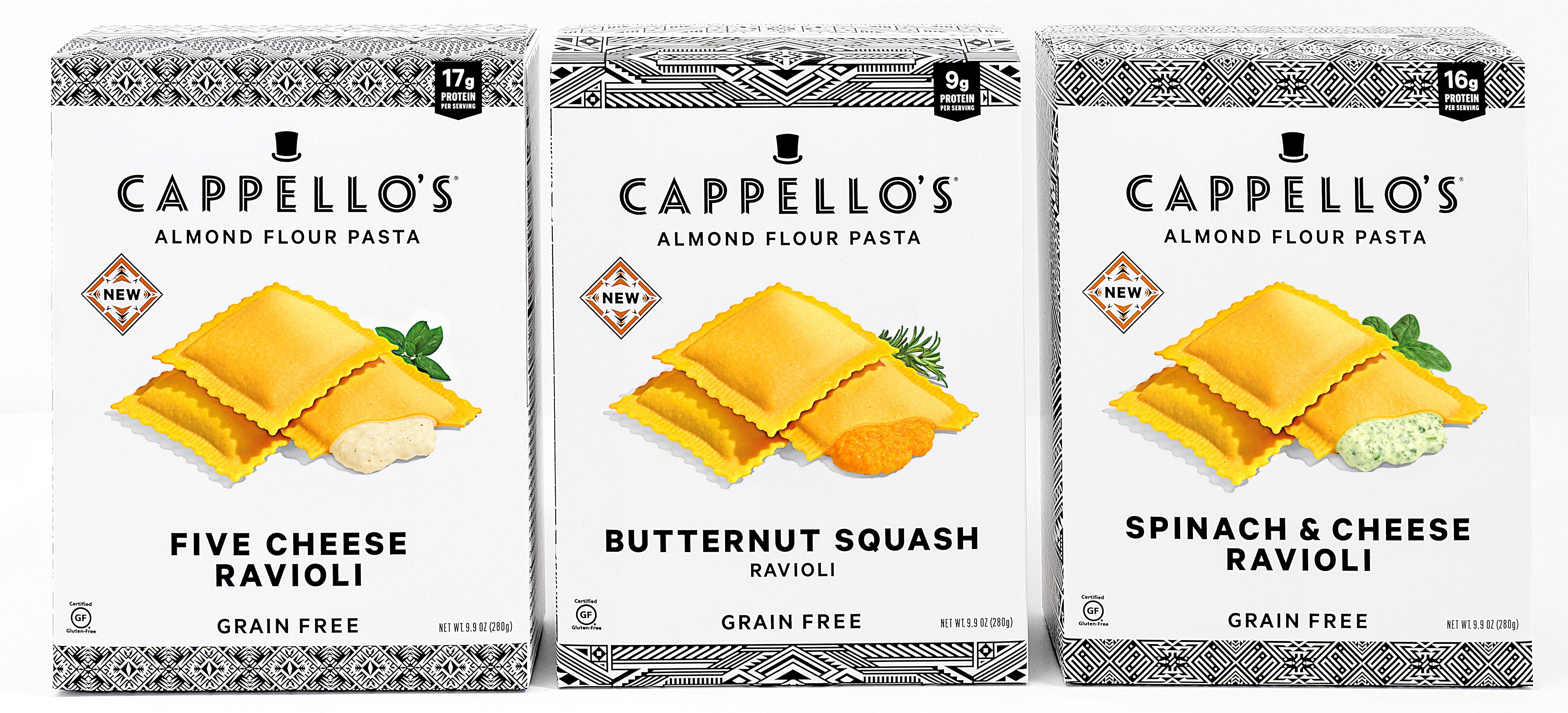 Grain-free ravioli from Cappello's