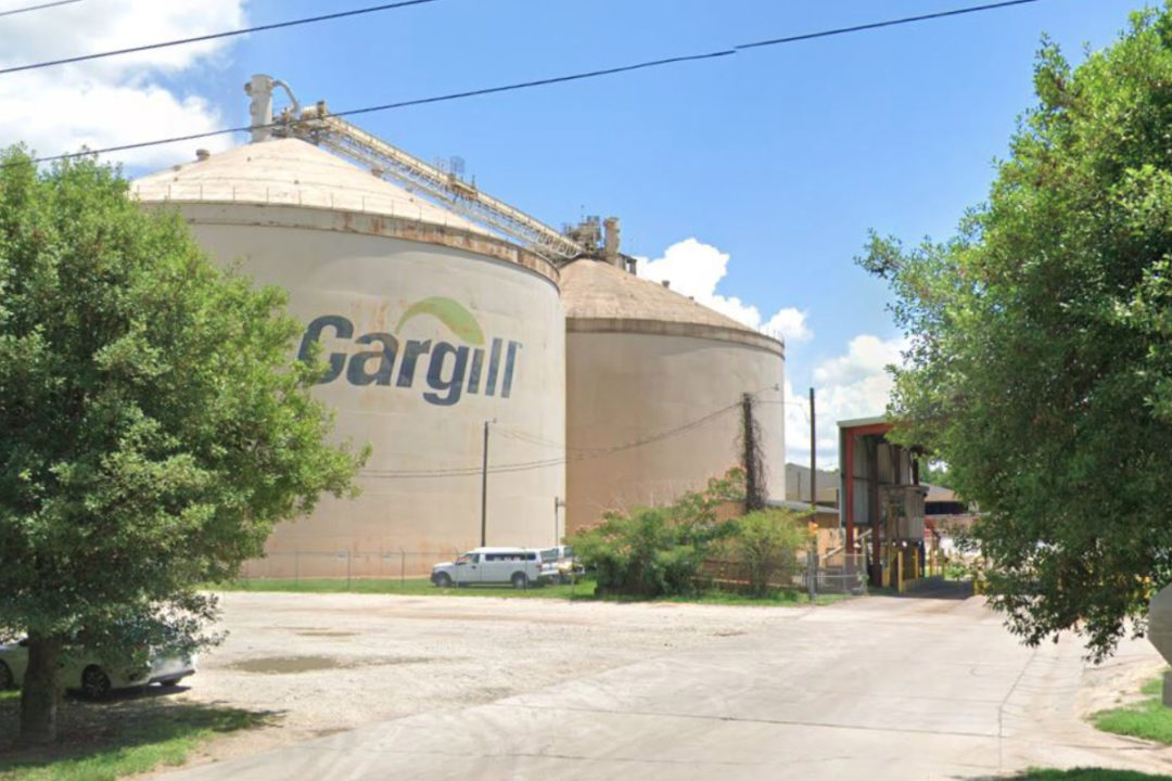 Cargill soybean processing plant in Fayetteville, NC