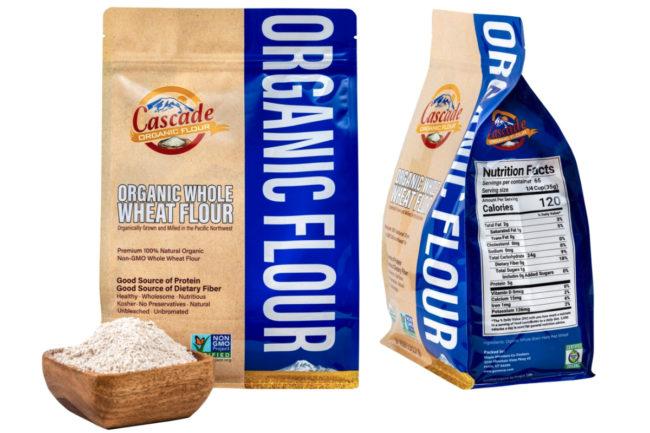 Cascade Organic Flour Natural Organic Whole Wheat Flour