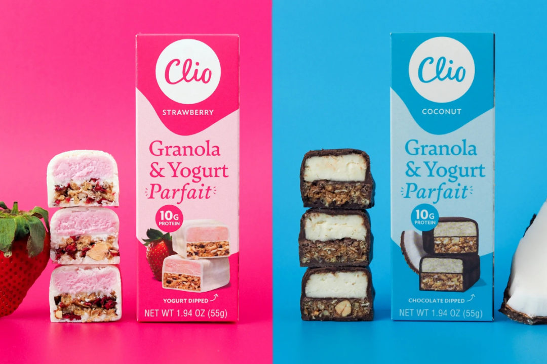 Clio Granola and Yogurt Parfait Bars