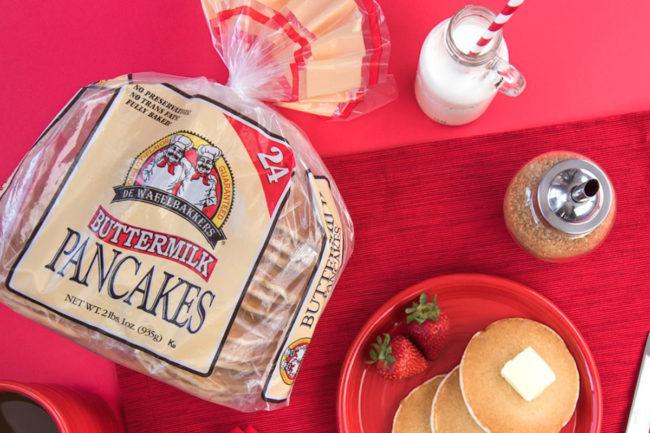 De Wafelbakkers buttermilk pancakes