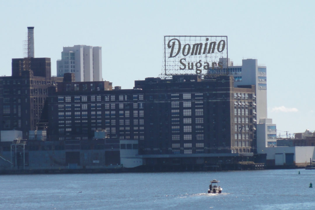 Domino Sugar refinery in Baltimore