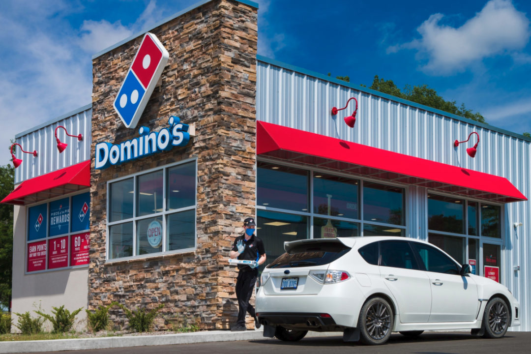 Domino's carside delivery
