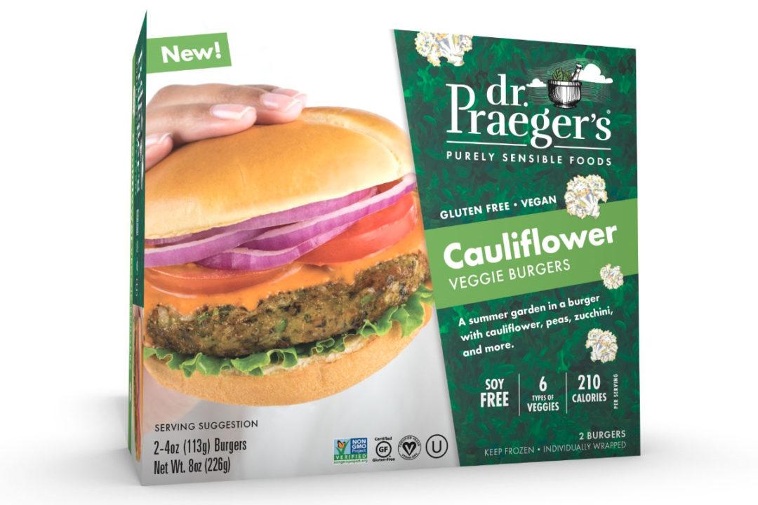 Dr. Praeger's Cauliflower Veggie Burger