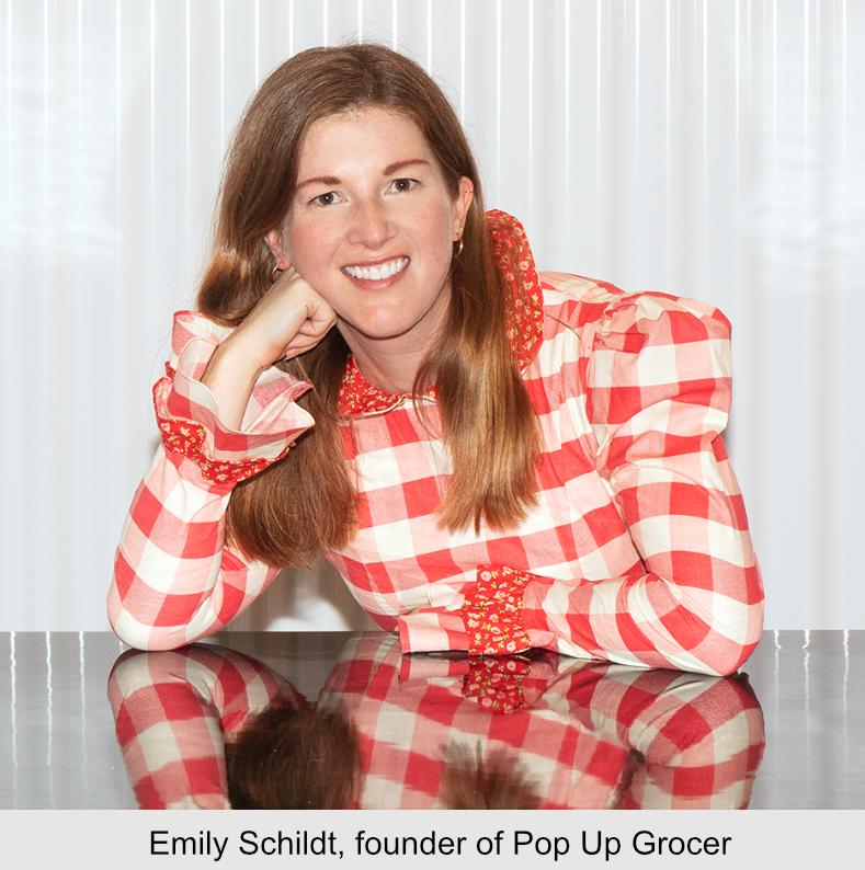 Emily Schildt, founder of Pop Up Grocer