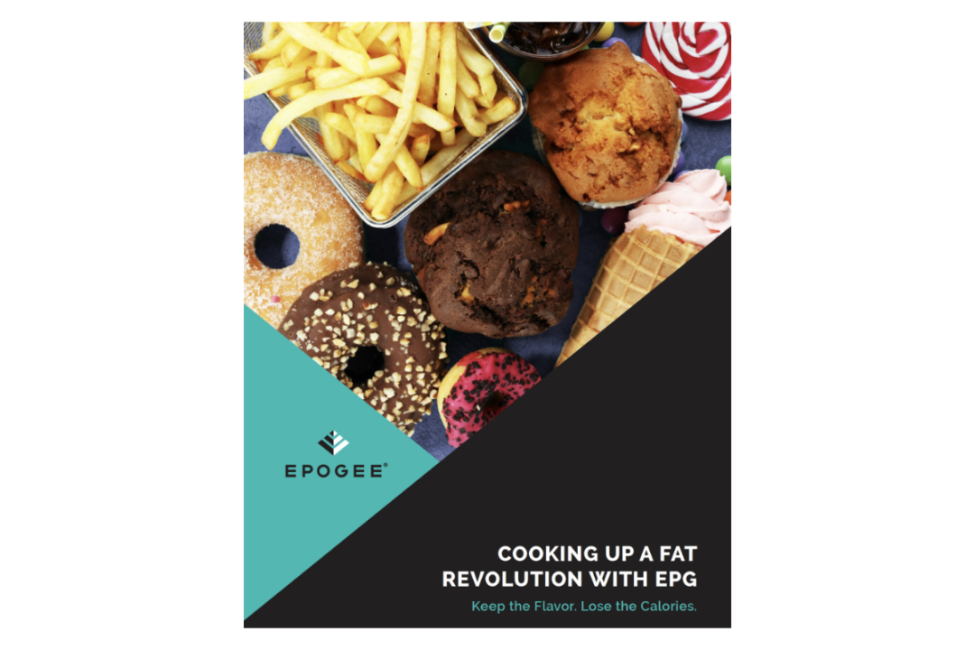 """Cooking up a fat revolution with EPG,""  whitepaper"