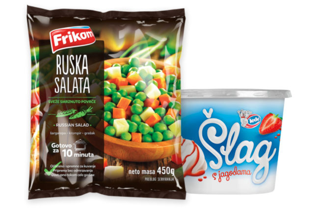 Fortenova Frozen Food Business Group Ledo and Frikom products