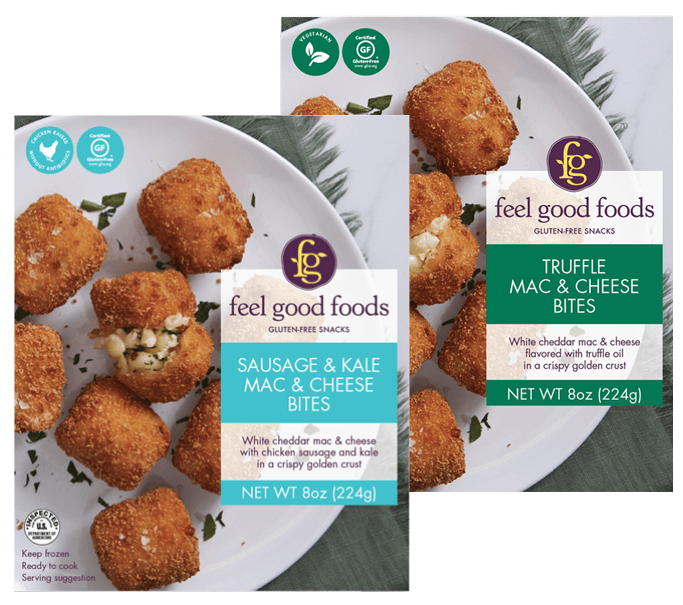 Feel Good Foods' gluten-free mac and cheese