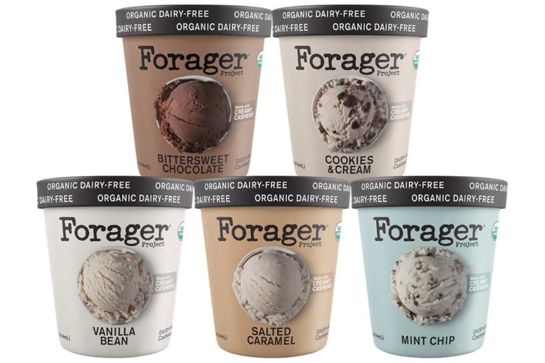 Forager Project plant-based frozen desserts