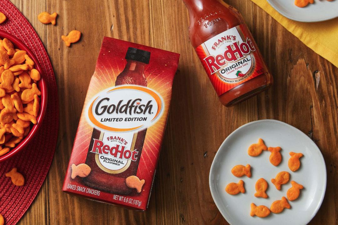 Goldfish Frank's RedHot crackers