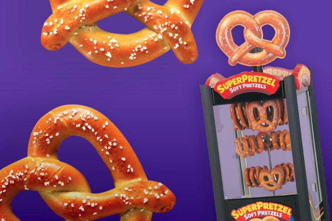 J&J Snack Foods Superpretzels for foodservice