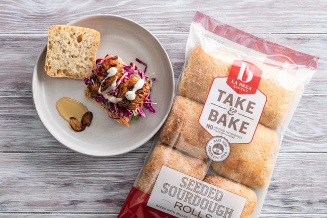 La Brea Bakery Seeded Sourdough Rolls