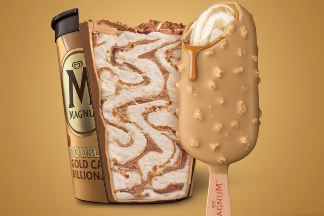 Magnum Double Gold Caramel Billionaire ice cream