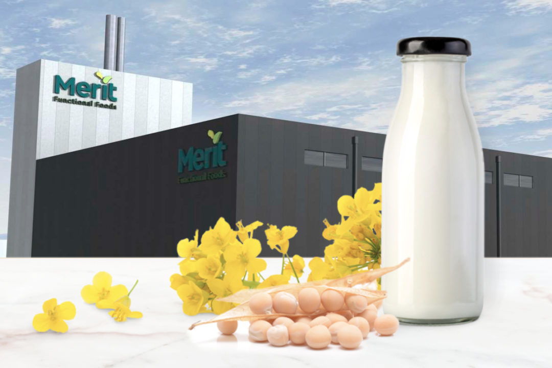 Merit Functional Foods' production facility in Winnipeg