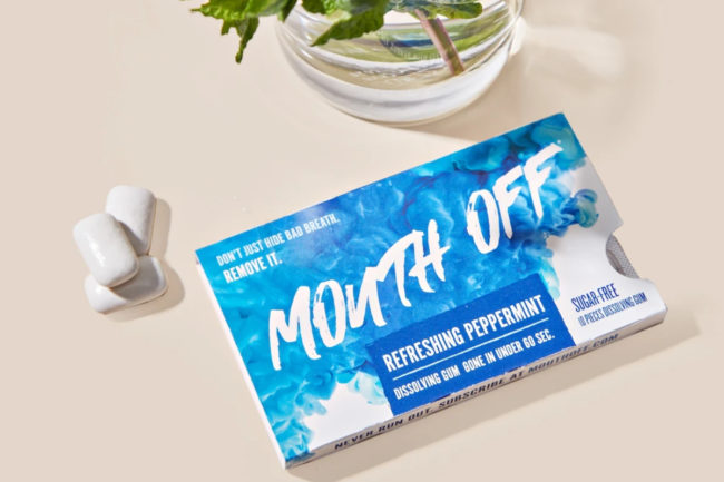 Mouth Off gum