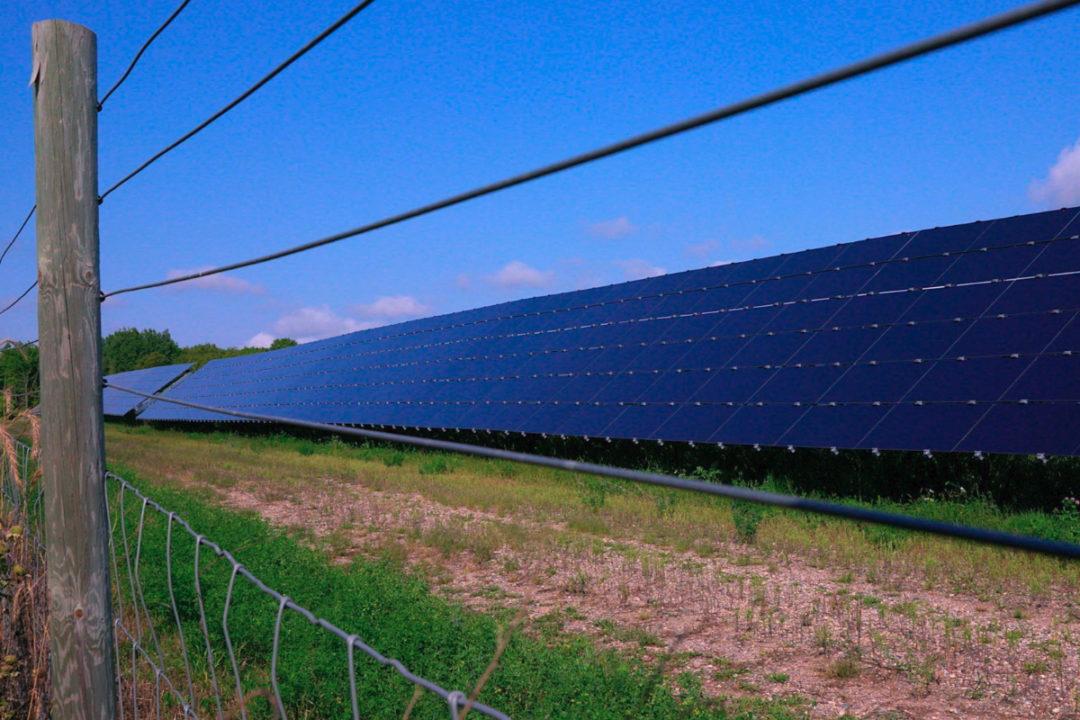 National Grid Renewables solar panels