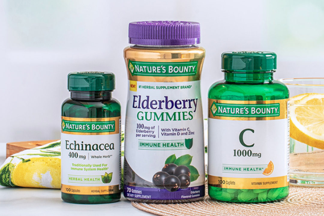 Nature's Bounty immunity supplements