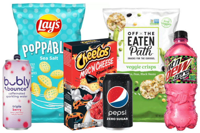 PepsiCo products