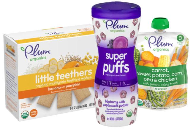 Plum Organics products