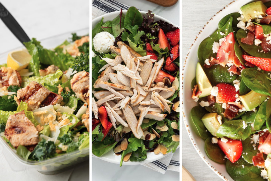 New salads from Chick-fil-A, La Madeleine, Newks Eatery