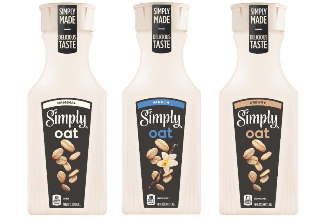 Simply Oat oat milk beverages