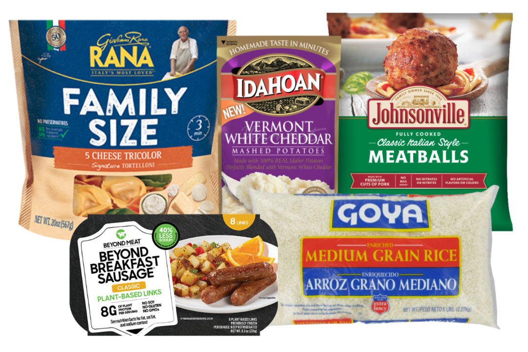 Small and mid-size food company products