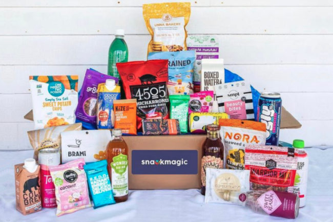 SnackMagic box