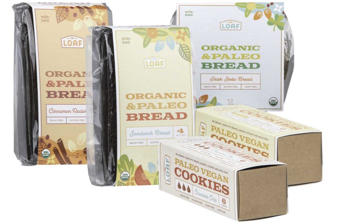 The Loaf paleo bread and cookies