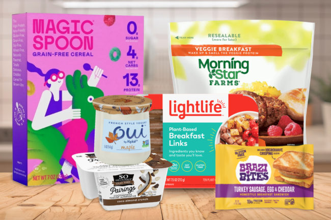 Trending breakfast foods