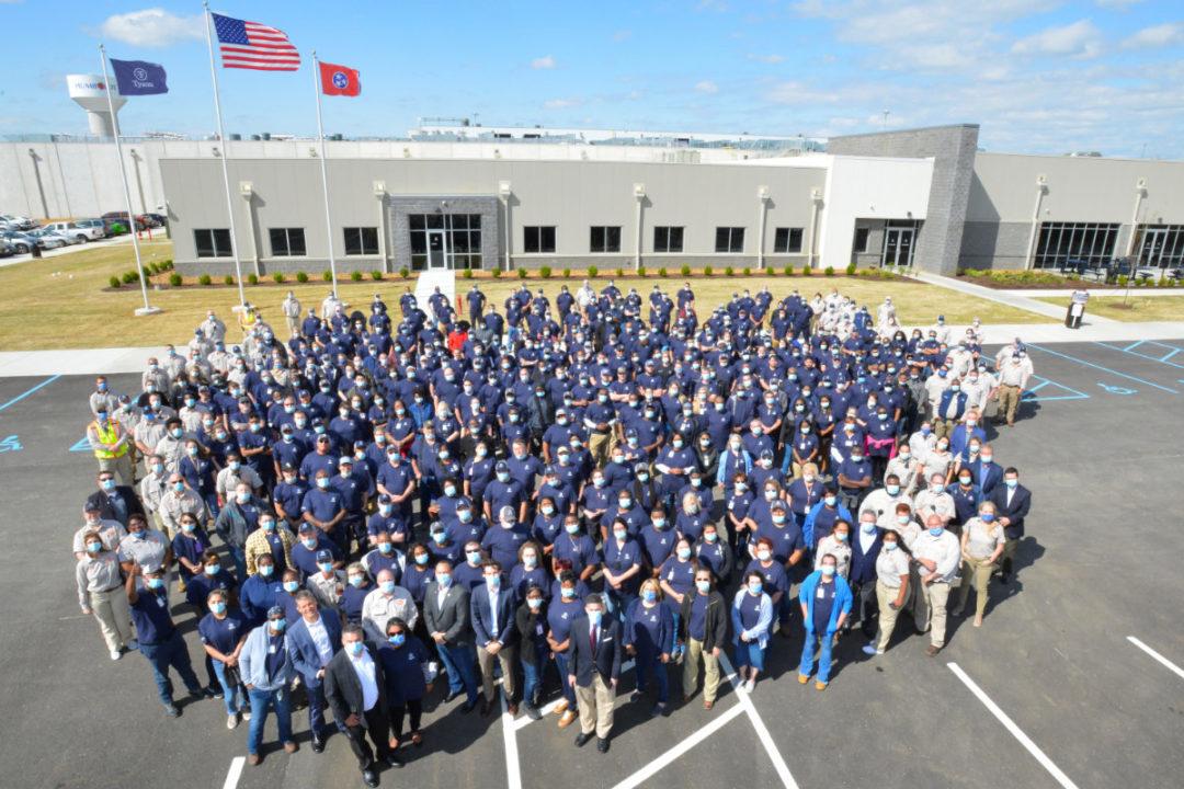 Tyson Humboldt, TN, facility