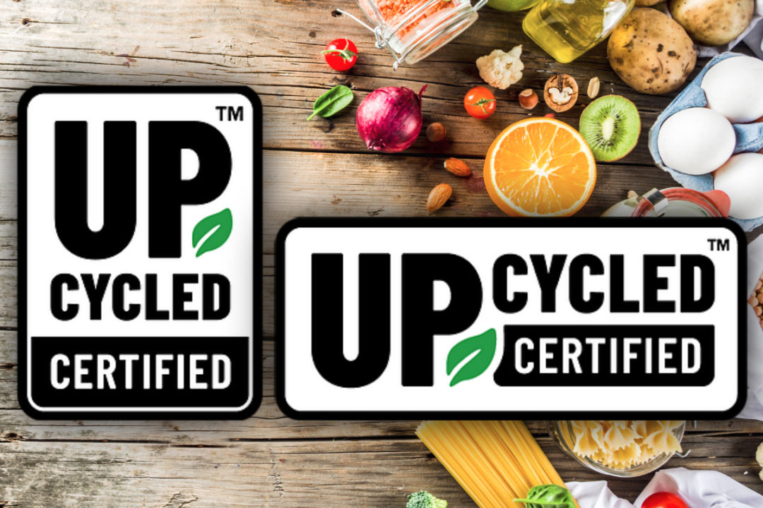 Upcycled certification seal