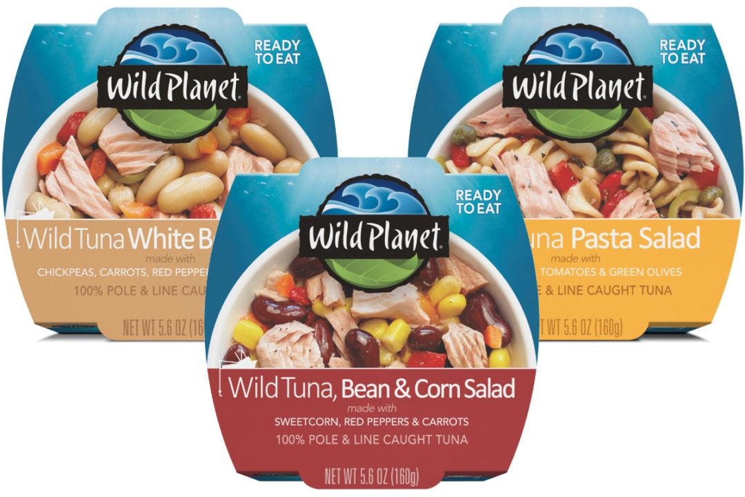 Wild Planet ready-to-eat tuna salad bowls