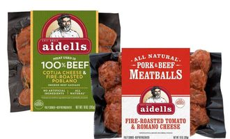 Aidells sausages and meatballs