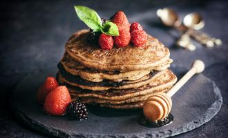 Buckwheat pancakes lead