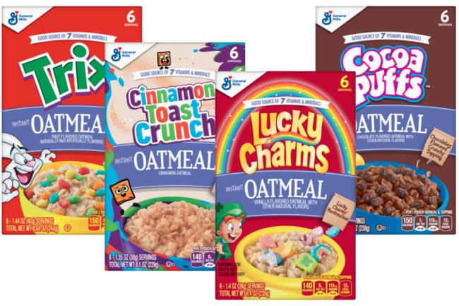 Big G Instant Oatmeals