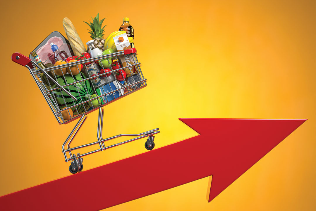 Food price inflation is on the horizon | 2021-05-11 | Food Business News