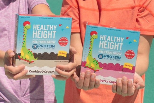 Nutritional Growth Solutions Healthy Height Snack Bars
