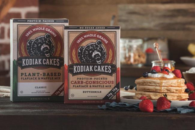 Kodiak Cakes pancake mixes