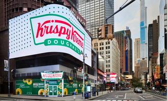 Krispy kreme times square lead